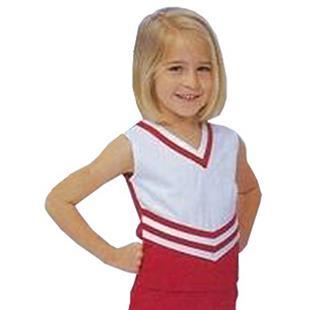 Bristol Youth V-Neck Cheerleaders Uniform Shells