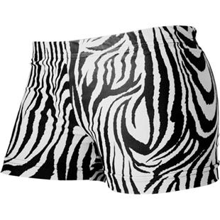 Gem Gear Compression Zebra Prints Cheer Shorts