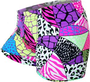 Gem Gear Compression Jungle Safari Shorts