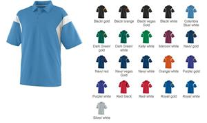 Augusta Adult Wicking Textured Sideline Shirt