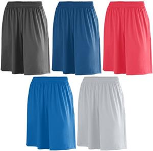 Adult Poly/Spandex Short with Pockets