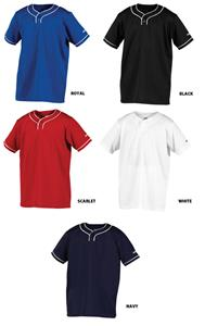 Worth Youth 2 Button Pullover Baseball Jerseys
