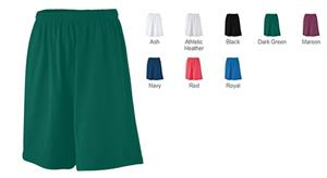 Augusta Athletic Wear Longer Length Jersey Short