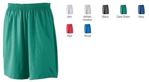 Athletic Wear Youth Jersey Short w/Inside Drawcord