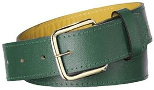 Twin City Adult Sized Leather Baseball Belts