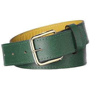 Twin City Adult Sized Leather Baseball Belts