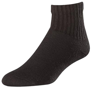 Twin City Chase Cotton Quarter Crew Socks