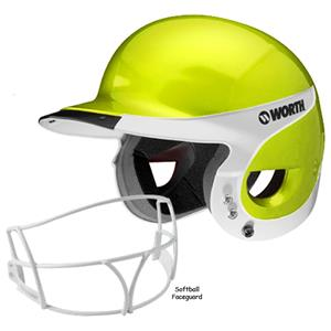 Worth Away Liberty Batter's Helmets w/Faceguard