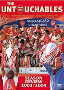 The Untouchables Arsenal 03/04 Season Review (DVD)