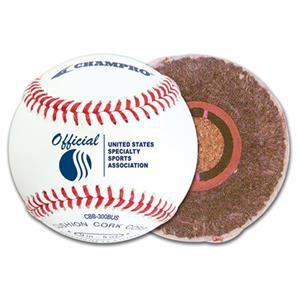 Champro CBB-300BUS USSSA Game Baseballs