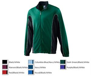 Augusta Brushed Tricot Color Block Youth Jacket