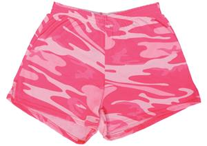 The Original Cheer Camp Shorts Pink Camo