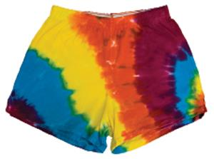 The Original Cheer Camp Shorts Tie Dye