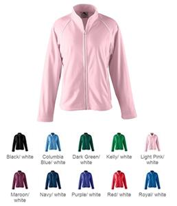 Augusta Sportswear Brushed Tricot Girls Jacket