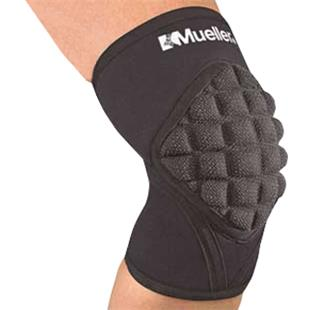 Mueller Pro Level Knee Pads with Kevlar (SINGLE)