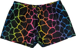 Funkadelic Jammin Giraffe Compression Shorts