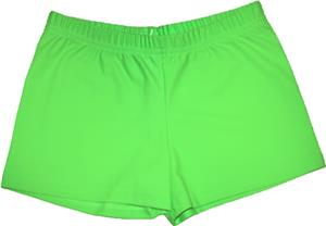 Funkadelic Neon Lime Lights Compression Shorts
