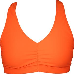 Funkadelic Neon Orange Glow Sports Bra