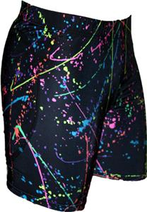 Funkadelic Paint Splatter Slider Shorts
