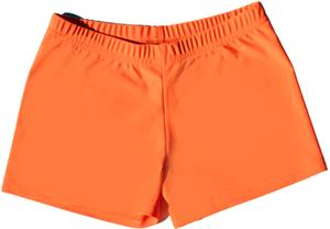 Funkadelic Neon Orange Glow Compression Shorts