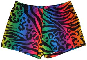 Funkadelic Wild Cats Compression Shorts