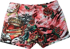 Funkadelic Zebra Love Compression Shorts