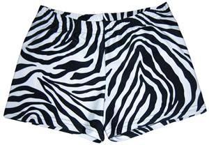 Funkadelic Zebra Safari Compression Shorts