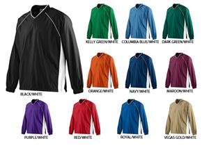 Augusta Micro Poly Color Pullover Jacket
