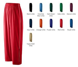 Augusta Sportswear Micro Poly Lined Pants