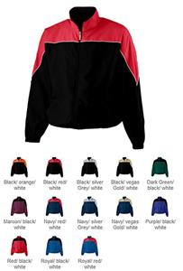 Augusta Sportswear Micro Poly Color Block Jacket