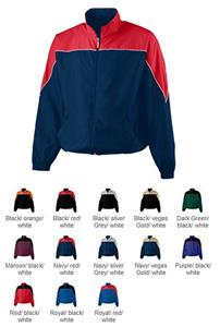 Augusta Micro Poly Color Block Youth Jacket