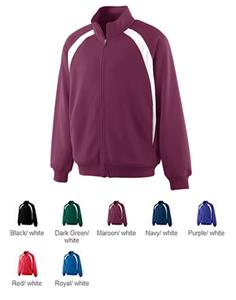 Augusta Double Knit Color Block Youth Jacket