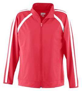 Augusta Poly Spandex Girls Jacket - Closeout