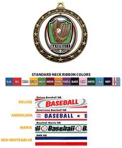 Hasty Awards Baseball Spinner Medals M-7701