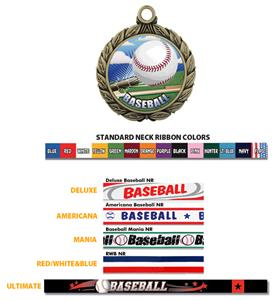 Hasty Awards Baseball HD Insert Medals M-8501