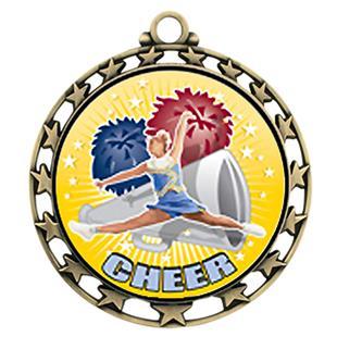 Hasty Awards Cheer HD Insert Medal M-4401