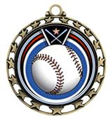 Hasty Awards Baseball Eclipse Insert Medals M-4401