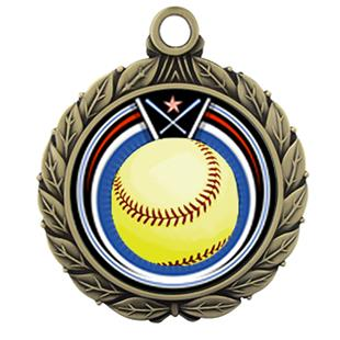 """Hasty Awards 2.75"""" Softball Eclipse Insert Medals"""