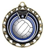 Hasty Award Volleyball Eclipse Insert Medal M-4401