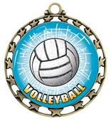 Hasty Awards Volleyball HD Insert Medal M-4401