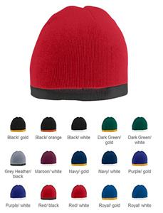 Augusta Sportswear Two-Tone Knit Beanie