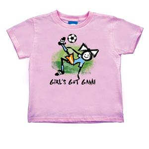 "Soccer ""Girl's Got Game"" T-shirts"