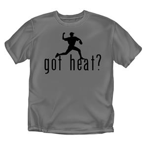 "Baseball ""Got Heat?"" T-shirts"