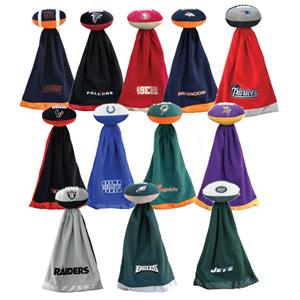 Snugglebal NFL Fleece Football Blankets
