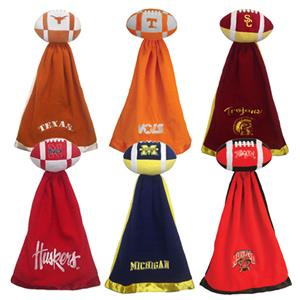 Snuggleball College NCAA Fleece Football Blankets