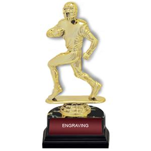 "Football Figure 6"" Participation Trophies Award"