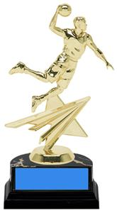"Basketball Slam Dunk Male 6"" Participation Trophy"