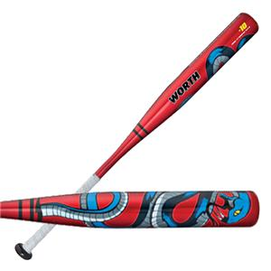 Worth Youth Copperhead Snake Baseball Bats YBSNKR