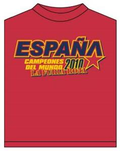 Utopia Soccer Spain Champions T-shirt