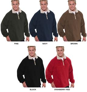 Vos Quarter Zip Polar Fleece Pull Overs